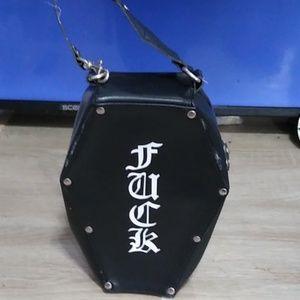 Mini coffin bag